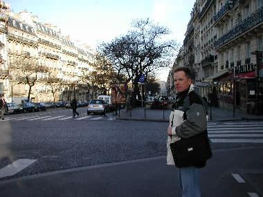 Scott in Paris