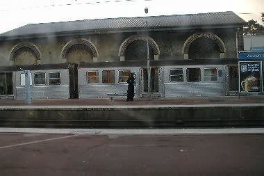One of many train stops